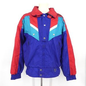 Vintage Descente Colorblock Ski Coat 1990s